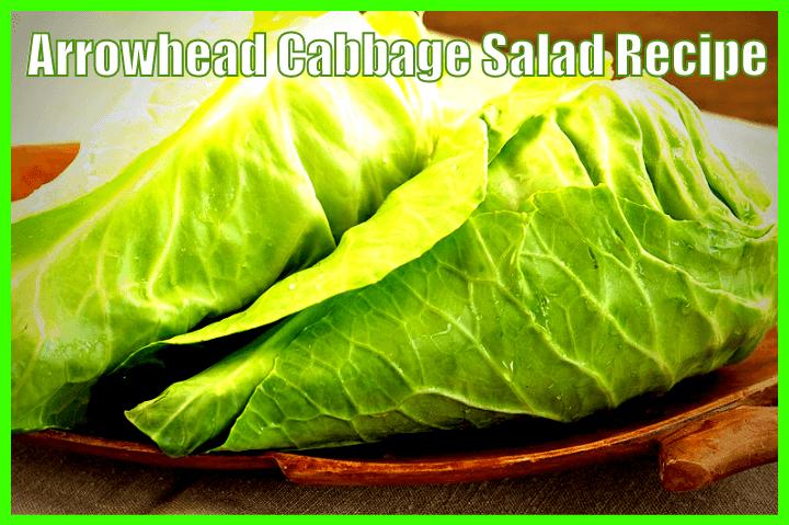 arrowhead cabbage salad