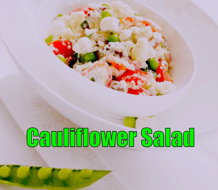recipe for cauliflower salad
