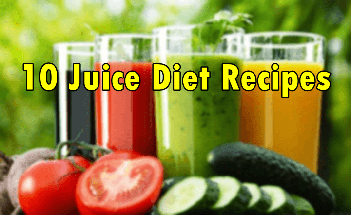 Juice Recipes for a healthy diet