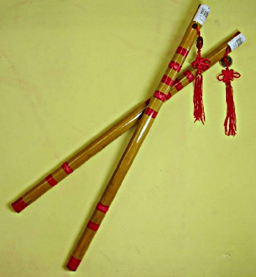 Feng Shui Bamboo Flutes - Cures for Falling Down Beam