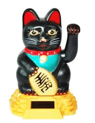 Wealth Cat Feng Shui Symbol