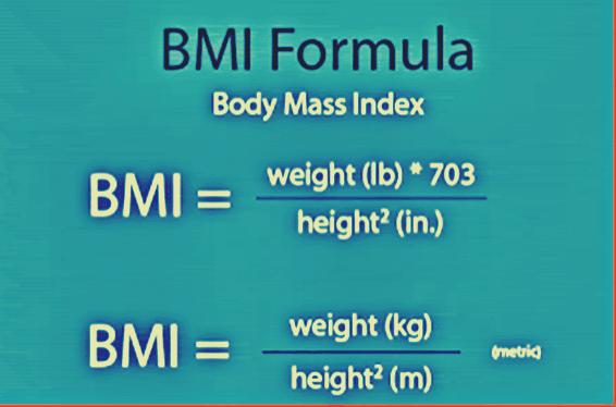 BMI formula