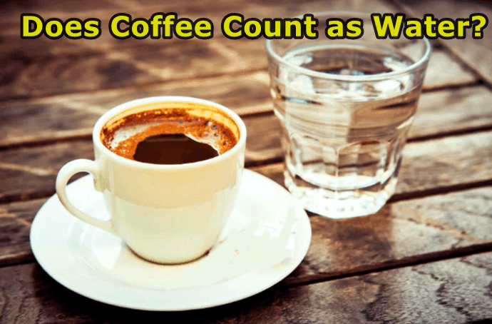 Can I drink coffee instead of water?