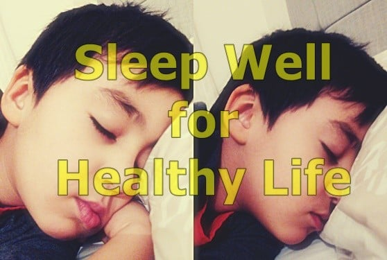 sleep well for health