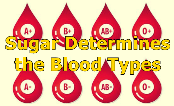 Relation between blood types and sugar