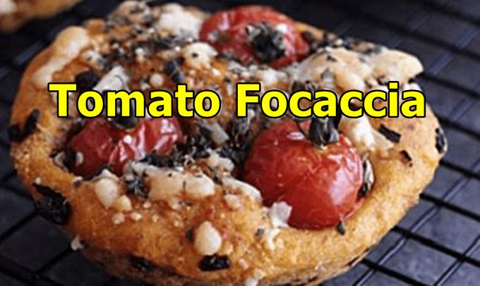 Tomato-focaccia