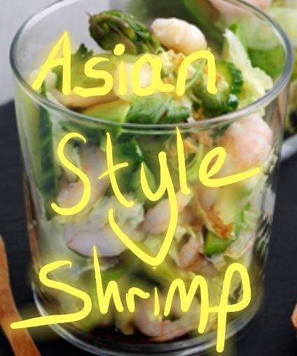 Shrimp recipe in Asian style