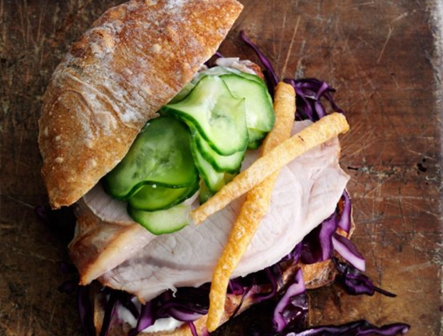 Pork Recipes Pork Roast Sandwich