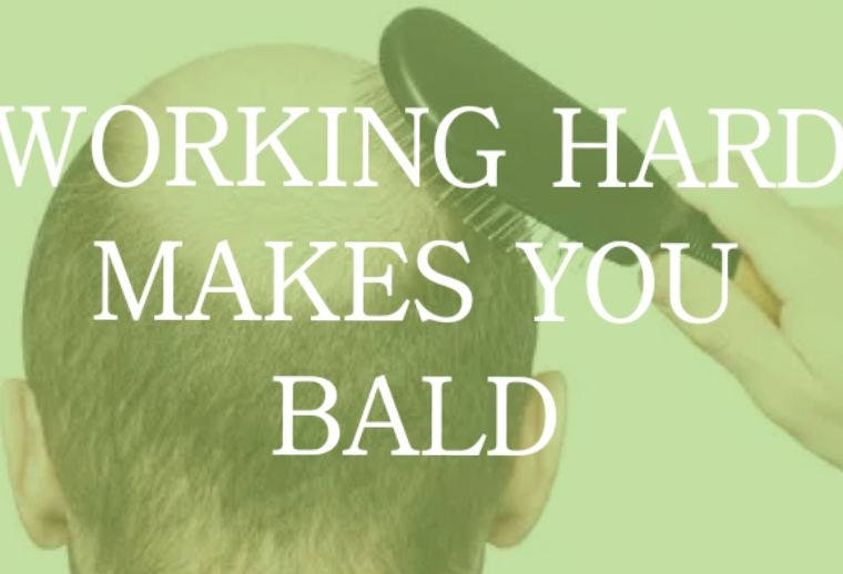 does stress cause hair loss baldness
