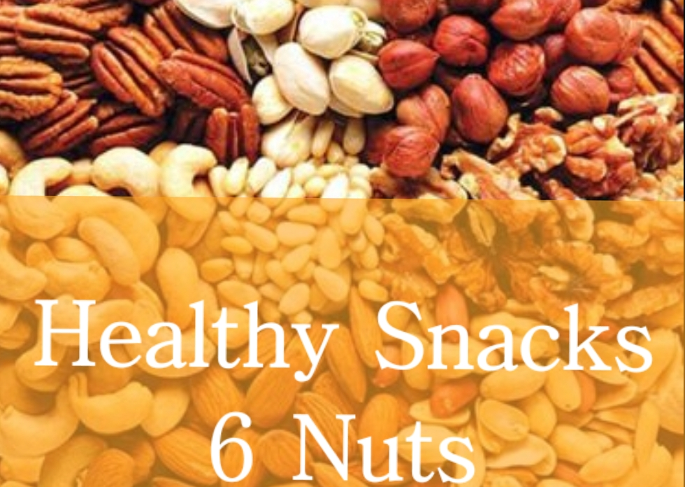 Healthy snacks; are nuts healthy?