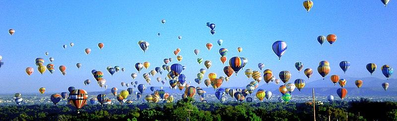 Hot air balloon ride abaquerque new mexico