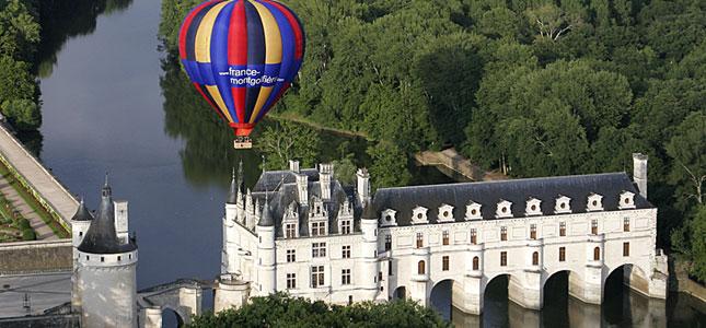 hot air balloon ride, loire valley france